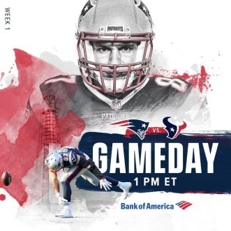 NFL Football – Gameday: Patriots vs. Bulls