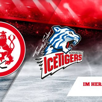 Eishockey: DEL – Düsseldorfer EG vs. Thomas Sabo Ice Tigers im ISS DOME.