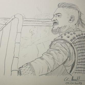 "Drawing: ""The last kingdom"" – Lineart"