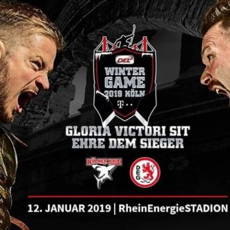 Eishockey: DEL Winter Game 2019: Kölner Haie vs. DEG / Düsseldorfer EG