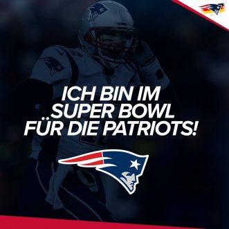 NFL Football – Flagge für die Patriots zeigen! 💪 #GoPats