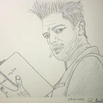 "Drawing: ""Preacher"" – Lineart"