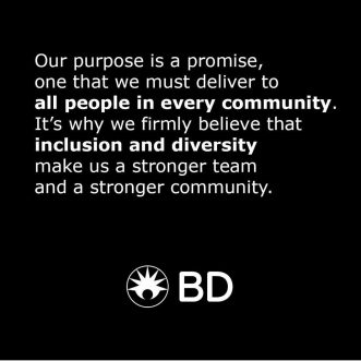 BD – Inclusion and diversity make us a stronger team