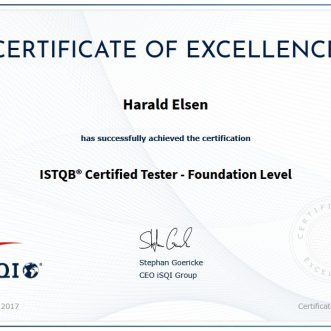 ISTQB Certified Tester – Foundation Level
