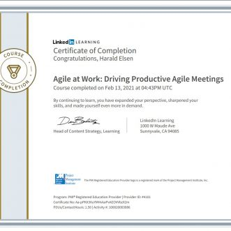 Agile at Work: Driving Productive Agile Meetings
