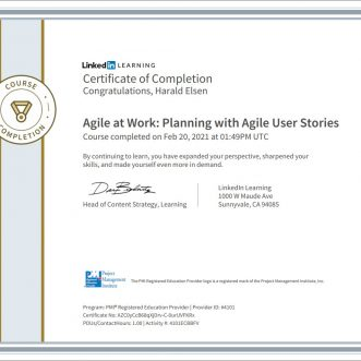 Agile at Work: Planning with Agile User Stories