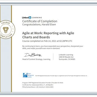 Agile at Work: Reporting with Agile Charts and Boards