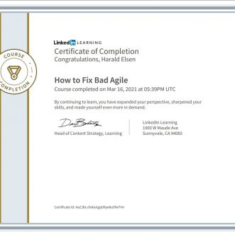 How to Fix Bad Agile