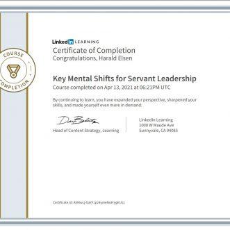 Key Mental Shifts for Servant Leadership