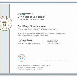 Cert Prep: Scrum Master