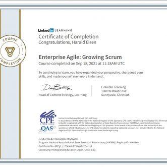 Enterprise Agile: Growing Scrum